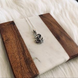 Jewelry - Sterling Silver Mariner Anchor Pendant Necklace